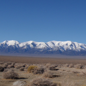 Toiyabe Range from Big Smoky Valley