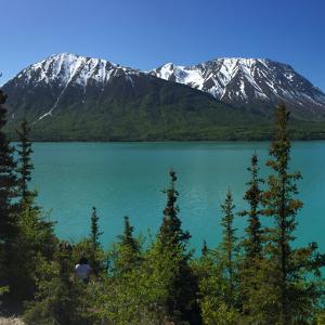 Kenai Lake panorama